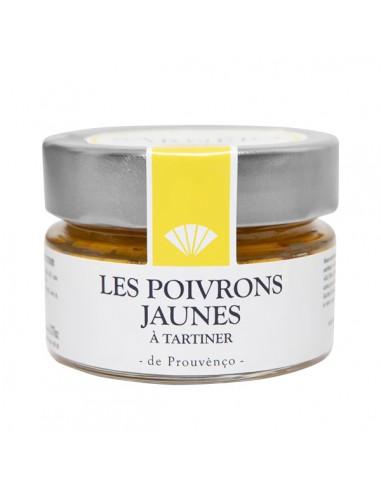 Crème de poivrons jaunes